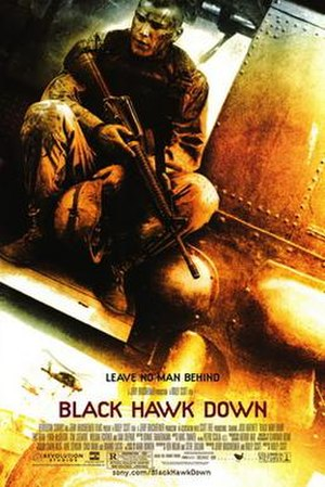 Black Hawk Down (film) - Theatrical release poster