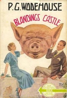 <i>Blandings Castle and Elsewhere</i> 1935 short story collection by P.G. Wodehouse