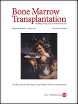 Bone Marrow Transplantation (journal) - Image: Bone Marrow Transplantation (journal)
