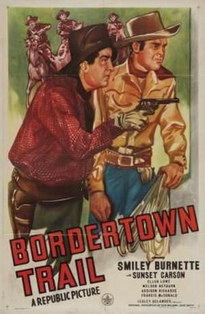 Bordertown Trail - Theatrical release poster