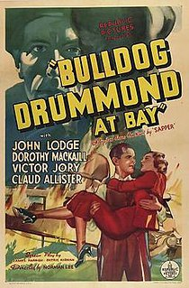 <i>Bulldog Drummond at Bay</i> (1937 film) 1937 film by Norman Lee