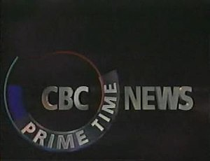 CBC Prime Time News - Title screen used from 1992 to 1994. A different opening used for the 1994-95 season was essentially identical (aside from the title) to the open used by The National from 1995-97.