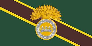 The Princess Louise Fusiliers - Image: Camp Flag of the Princess Louise Fusiliers