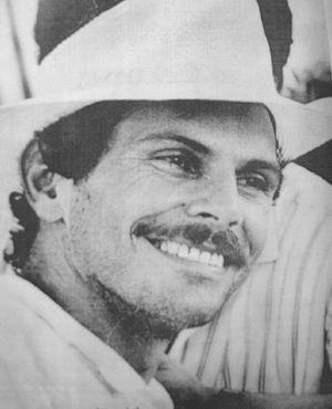 Carlos Pizarro Leongómez - Carlos Pizarro Leongomez in 1990