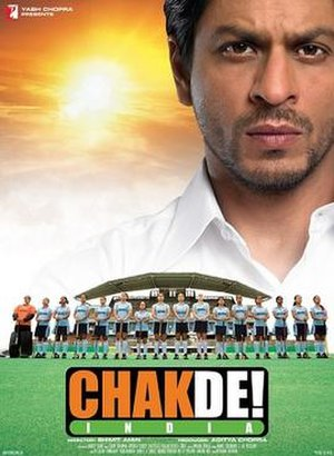 Chak De! India - Theatrical release poster