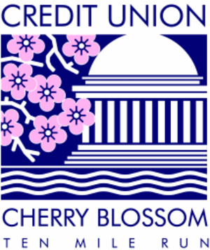 Cherry Blossom Ten Mile Run - The official race logo