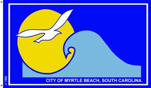 Flag of Myrtle Beach, South Carolina