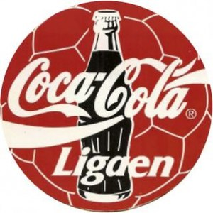 Danish Superliga - Image: Coca Cola Ligaen 1995
