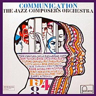 Communication (Jazz Composer's Orchestra album) - Image: Communication (JCO album)