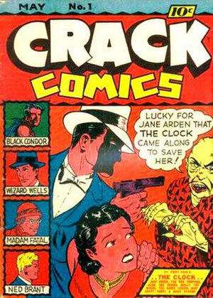 Jane Arden (comics) - Image: Crack Comics 1