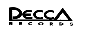 Decca Records - Short-lived Decca Records country music label logo