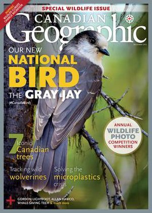 Canadian Geographic - Image: December 2016 issue of Canadian Geographic