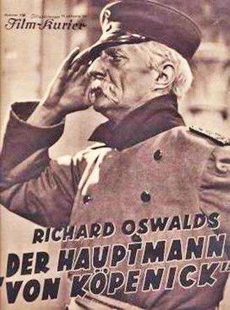 The Captain from Köpenick (1931 film) - Image: Der Hauptmann Oswald