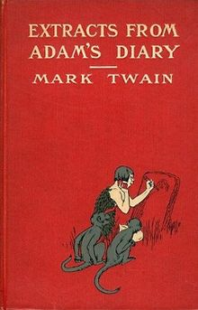 Adam's Diary by Mark Twain