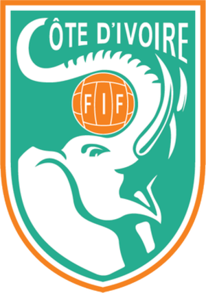 Ivory Coast national football team - Image: FIF New Crest