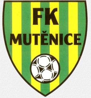 FK Mutěnice - Image: FK Mutěnice logo