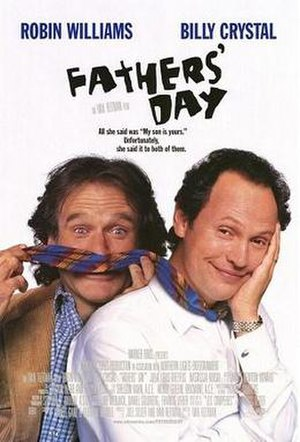 Fathers' Day (1997 film) - Theatrical release poster