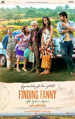 Finding Fanny - Theatrical release poster
