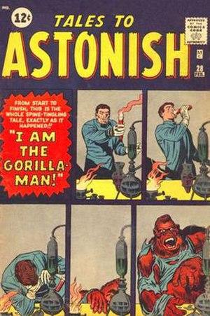 Gorilla-Man - Image: Franz Gorilla