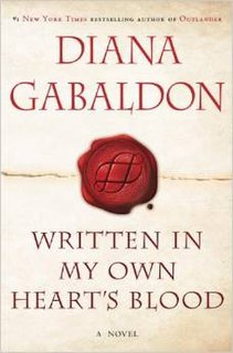<i>Written in My Own Hearts Blood</i> book by Diana Gabaldon