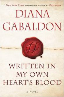 Gabaldon-Written in My Own Heart's Blood-2014.jpg
