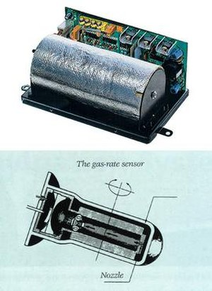 Electro Gyrocator - Internal workings of the Gas Gyroscope