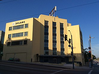 Golden State Mutual Life Insurance Building (1949) - Image: Golden State Building 1949 Street 2