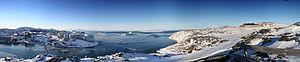 Ilulissat - Image: Greenland Ilulissat Panorama medium