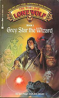 <i>Grey Star the Wizard</i> book by Ian Page