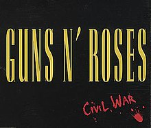 Guns N' Roses — Civil War (studio acapella)