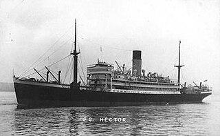 1924 armed merchant cruiser of the British Royal Navy