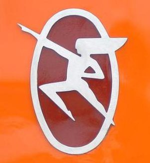 Hiawatha Service - Hiawatha logo from the Milwaukee Road days.