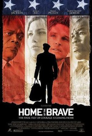 Home of the Brave (2006 film) - Theatrical release poster
