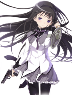 Homura Akemi fictional character from Puella Magi Madoka Magica