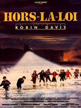 Hors-la-loi (1985 film) - Theatrical release poster