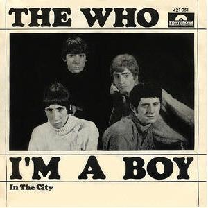 I'm a Boy - Image: I'm a Boy single