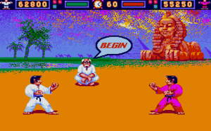 International Karate - Atari ST version of the game