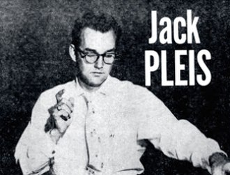 Jack Pleis - Pleis, on the back cover of Strings and Things (1957)