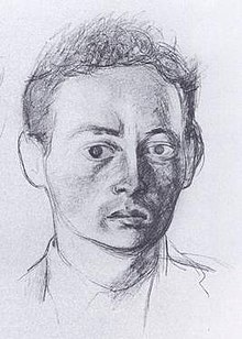 John McGahern, by Patrick Swift, 1960