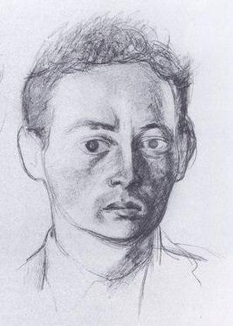 John McGahern - John McGahern, by Patrick Swift, 1960