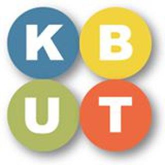 KBUT - Image: KBUT radio logo
