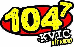 KVIC (FM) - Image: KVIC station logo
