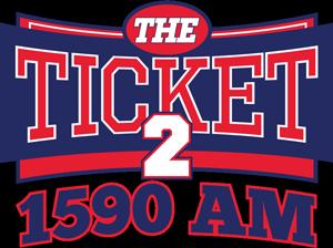 KYNG (AM) - Image: KYNG The Ticket 2 1590 logo