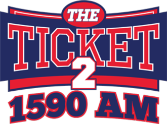 KYNG (AM) - Image: KYNG The Ticket 2 1590 logo