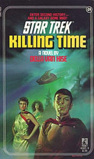 Killing Time (Star Trek novel) - Image: Killing Time (Star Trek novel)