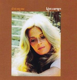 Rest on Me - Image: Kim Carnes Rest on Me