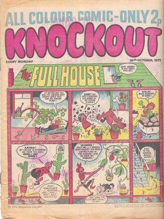 Knockout (UK comics) - Second series, publication date 30 October 1971