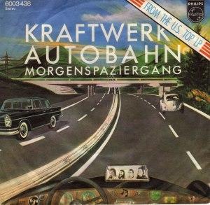 Autobahn (song) - Image: Kraftwerk Autobahn single