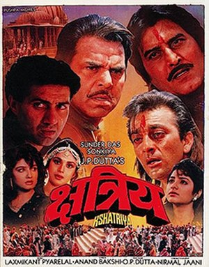 Kshatriya (film) - Release poster