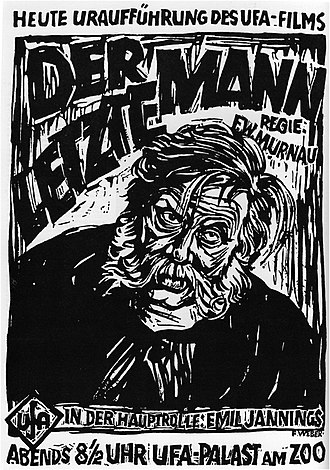 The Last Laugh (1924 film) - Image: Lastlaughposter